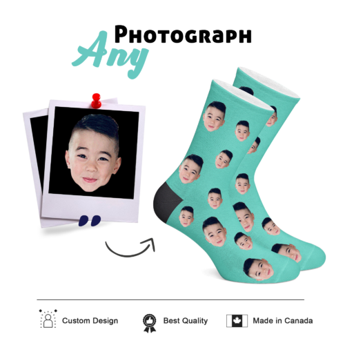 Custom Face Socks - 1