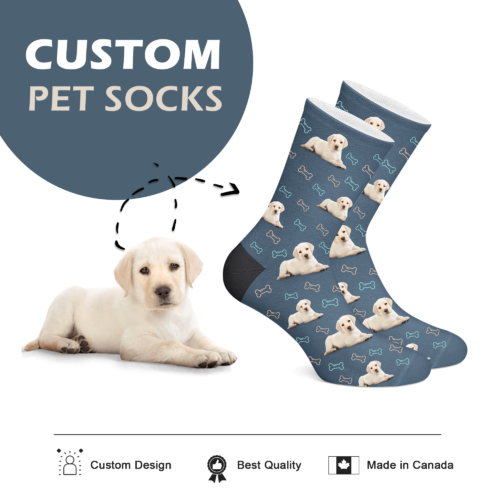 Custom Dog Socks - Full Body