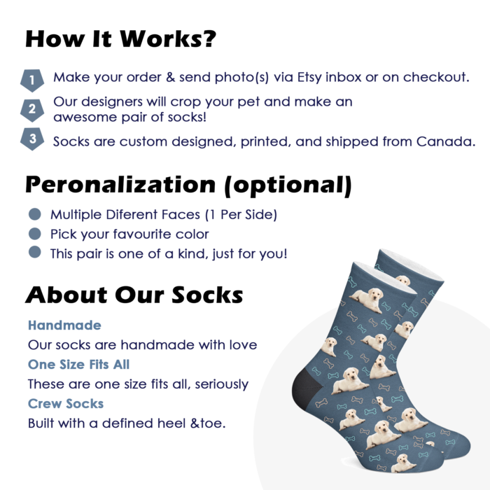 Custom Dog Socks - Full Body 2